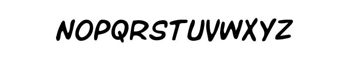 Overstreet Bible Semi-Italic Font LOWERCASE