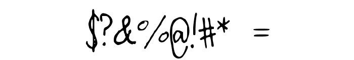 OverthEMoOn Font OTHER CHARS