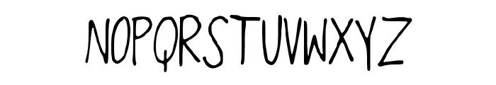 OverthEMoOn Font UPPERCASE