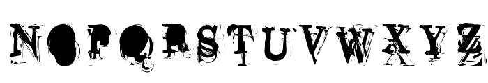 Overwork Font UPPERCASE