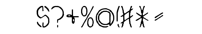 Ovial Caps Font OTHER CHARS