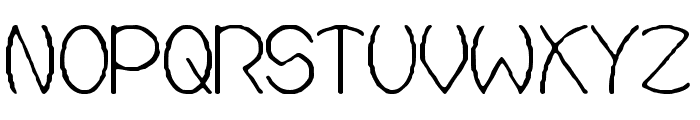 Ovial Font UPPERCASE