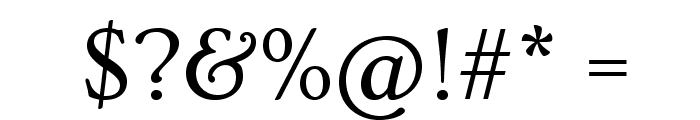 Ovo Font OTHER CHARS