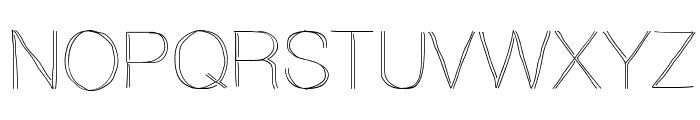 Ovrlap Font UPPERCASE