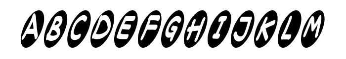 ovalium starmind Font UPPERCASE