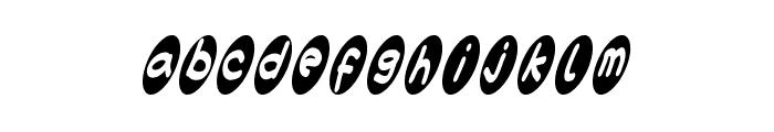 ovalium starmind Font LOWERCASE