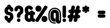Oval Single Font OTHER CHARS