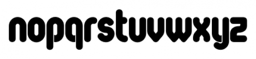 Oval Single Font LOWERCASE