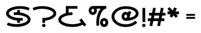 Ovala SRF Regular Font OTHER CHARS