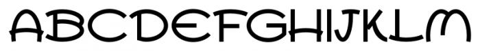 Ovala SRF Regular Font UPPERCASE