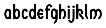 Ovala SRF Regular Font LOWERCASE