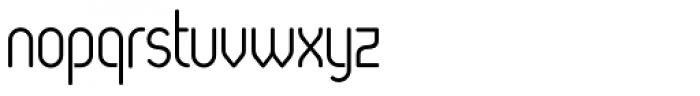 Oval Book Font LOWERCASE