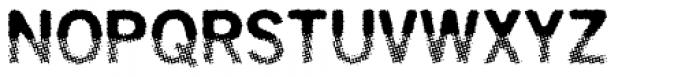 Overbeat Regular Font UPPERCASE