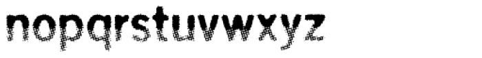 Overbeat Regular Font LOWERCASE