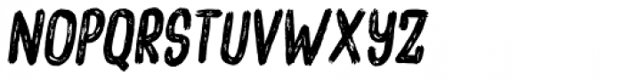 Overblik Italic Font UPPERCASE