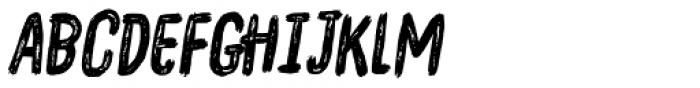 Overblik Italic Font LOWERCASE
