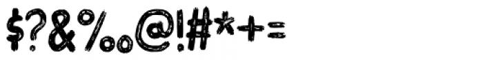 Overblik Regular Font OTHER CHARS