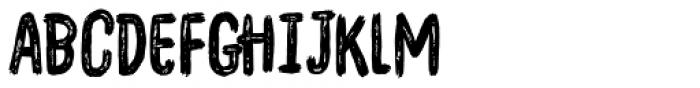 Overblik Regular Font LOWERCASE