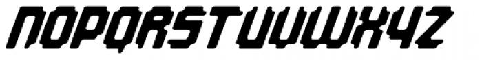 Overbyte On Italic Font UPPERCASE