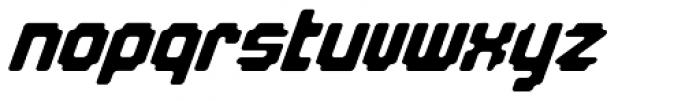 Overbyte On Italic Font LOWERCASE
