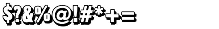 Overlapper Font OTHER CHARS