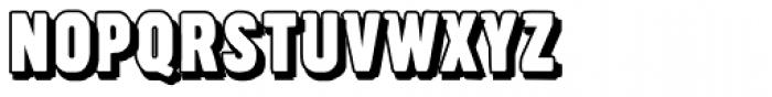 Overlapper Font UPPERCASE