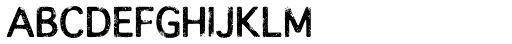 Overloaded Regular Font UPPERCASE