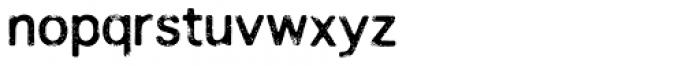 Overloaded Regular Font LOWERCASE