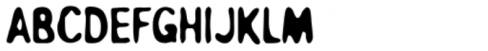 Overprint ICG Heavy Font UPPERCASE