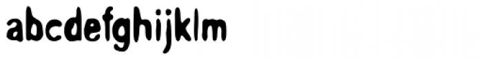 Overprint ICG Heavy Font LOWERCASE