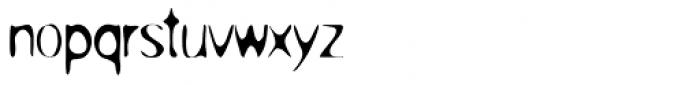 Overprint ICG Light Font LOWERCASE