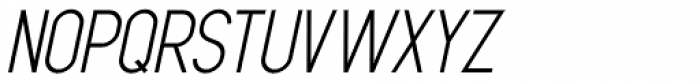 Oversimplified JNL Oblique Font UPPERCASE