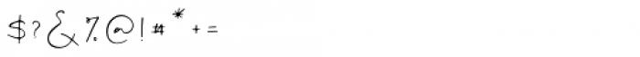 Ovetta Regular Font OTHER CHARS