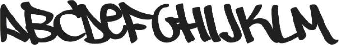 Owned Regular otf (400) Font UPPERCASE