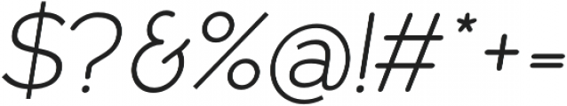 Owyne Light Italic otf (300) Font OTHER CHARS