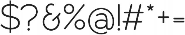 Owyne Light otf (300) Font OTHER CHARS
