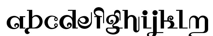 Owah Tagu Siam NF Font LOWERCASE