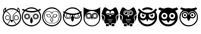 Owl Font OTHER CHARS