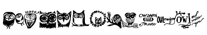 Owlmazing Font LOWERCASE