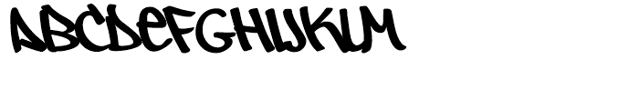 Owned Regular Font LOWERCASE