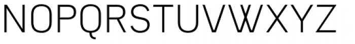 Owen S. Light Font UPPERCASE