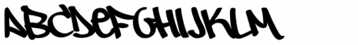 Owned Font UPPERCASE