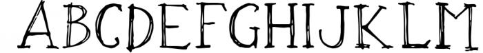 OXYA Cyrillic/Greek Handcrafted Font Font UPPERCASE