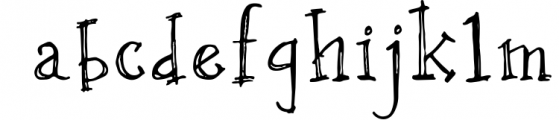OXYA Cyrillic/Greek Handcrafted Font Font LOWERCASE