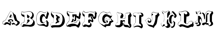 OxNard Font LOWERCASE
