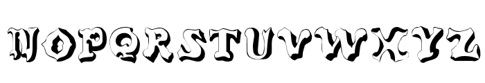 Oxnard Regular Font LOWERCASE