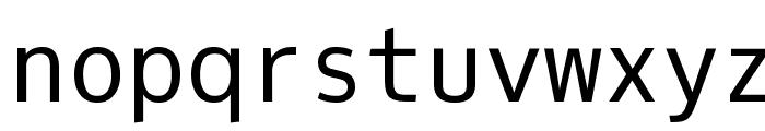 Oxygen Mono Font LOWERCASE