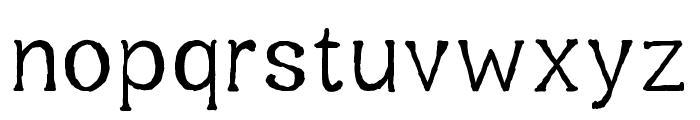 Oxygetrompal Medium Font LOWERCASE
