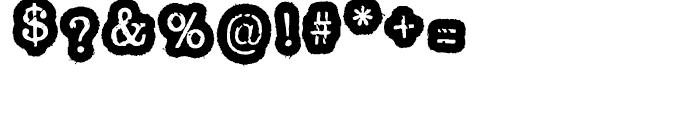 Oxeran Z Regular Font OTHER CHARS
