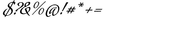 Oxida Regular Font OTHER CHARS